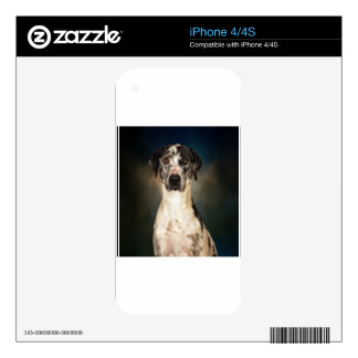 The Great Dane Skin For The iPhone 4S