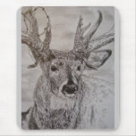 The great deer mouse pad