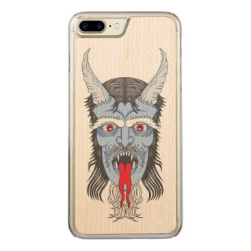 Halloween Themed The Great Demon Carved iPhone 7 Plus Case