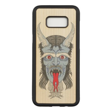 Halloween Themed The Great Demon Carved Samsung Galaxy S8  Case