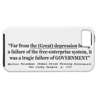 The Great Depression Was A Government Failure iPhone SE/5/5s Case