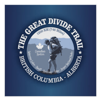 The Great Divide Trail Poster