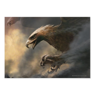 The Great Eagles Concept 5x7 Paper Invitation Card