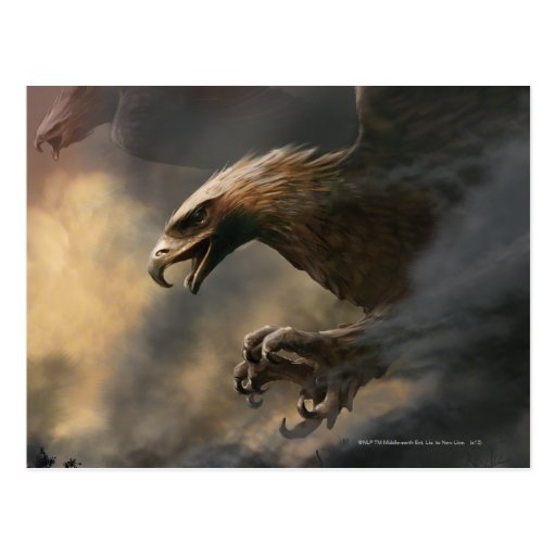 The Great Eagles Concept Postcard