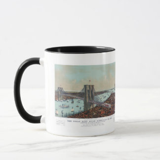 The Great East River Suspension Bridge Mug