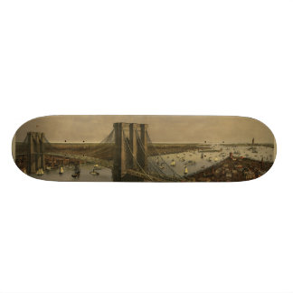 The Great East River Suspension Bridge Skateboard