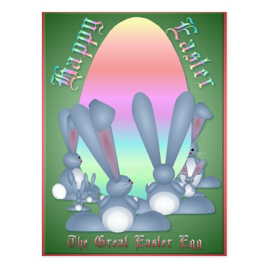 The Great Easter Egg  Postcard