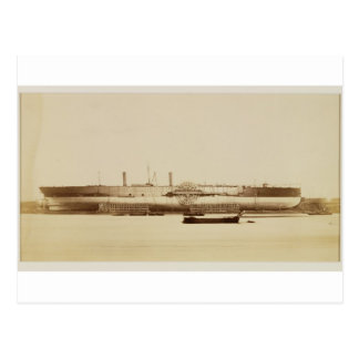 The Great Eastern, November 17th 1857 (albumen pri Postcard