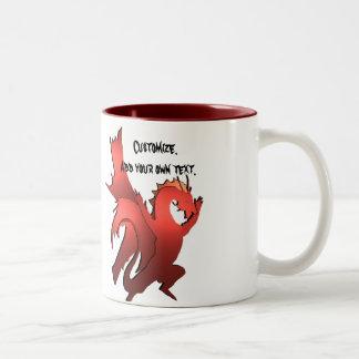 The Great Eastern Red Dragon Mug