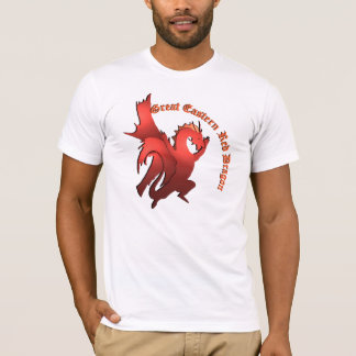 The Great Eastern Red Dragon Shirt