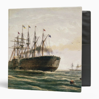 The Great Eastern under way, July 23rd, 1865, from Binder