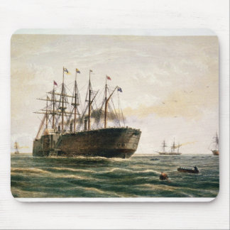 The Great Eastern under way, July 23rd, 1865, from Mouse Pad