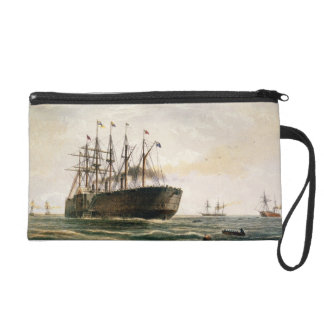 The Great Eastern under way, July 23rd, 1865, from Wristlet