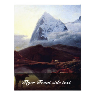The Great Eiger Seen From The Wengernalp By Maximi Custom Flyer