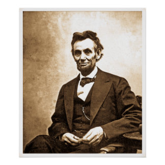 The Great Emancipator - Abe Lincoln (1865) Poster