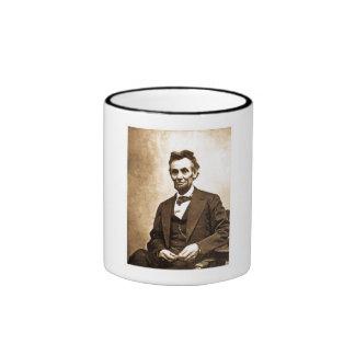 The Great Emancipator - Abe Lincoln (1865) Ringer Mug