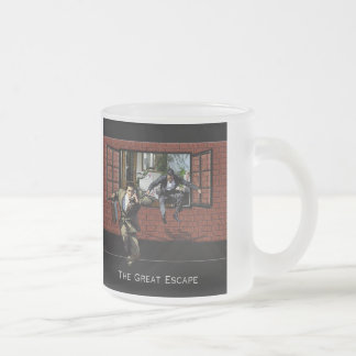 The Great Escape Frosted Glass Coffee Mug