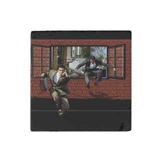 The Great Escape Marble Magnet Stone Magnet