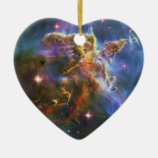 The Great Eta Carina Nebula NGC 3372 Ceramic Ornament