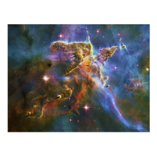 The Great Eta Carina Nebula NGC 3372 Postcard