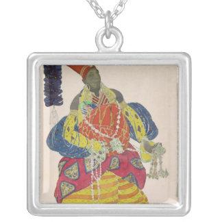 The Great Eunuch Square Pendant Necklace