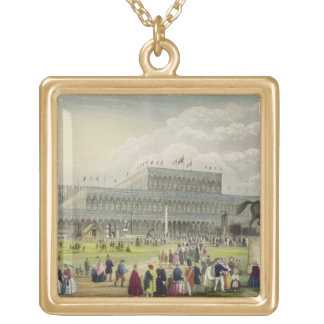 The Great Exhibition of all Nations, by Chavanne, Gold Plated Necklace