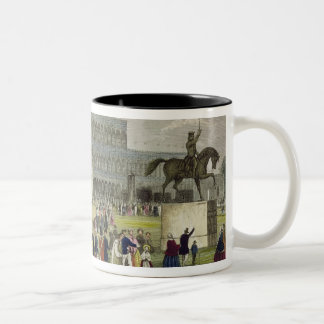 The Great Exhibition of all Nations, by Chavanne, Two-Tone Coffee Mug