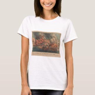 The Great Fight At Charleston 1863 Civil War T-Shirt