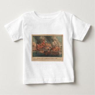 The Great Fight At Charleston 1863 Civil War Tee Shirt