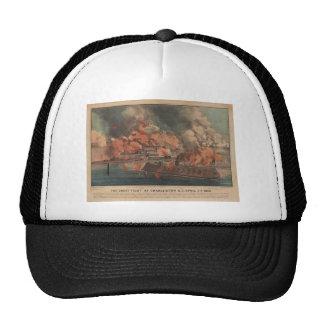 The Great Fight At Charleston 1863 Civil War Trucker Hat
