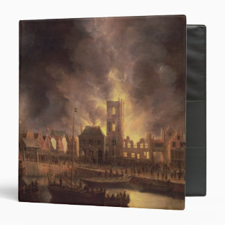 The Great Fire in the Old Town Hall, Amsterdam Binder