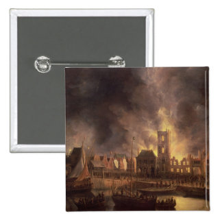 The Great Fire in the Old Town Hall, Amsterdam Pins