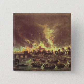 The Great Fire of London, 1666 Pinback Button