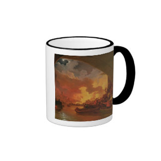The Great Fire of London, c.1797 (oil on canvas) Coffee Mug