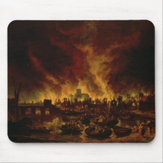 The Great Fire of London in 1666 Mouse Pad