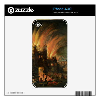 The Great Fire of London (September 1666) with Lud iPhone 4S Skins