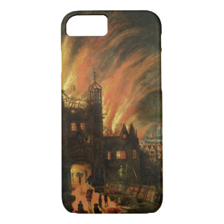 The Great Fire of London (September 1666) with Lud iPhone 7 Case