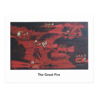 The Great Fire Postcard