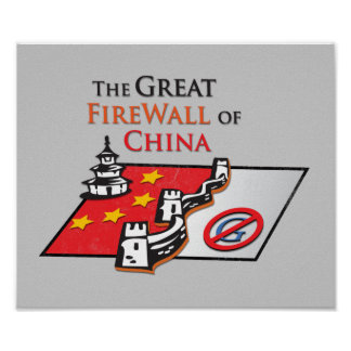 The Great Firewall of China Poster