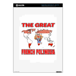 The Great FRENCH POLYNESIA. iPad 3 Decals