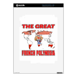 The Great FRENCH POLYNESIA. Skin For The iPad 2