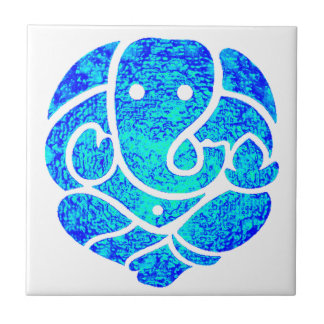 THE GREAT GANESH SMALL SQUARE TILE