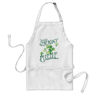 The Great Genealogy Puzzle Apron