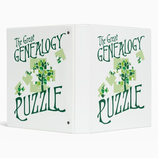 The Great Genealogy Puzzle Binder