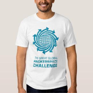 The Great Global Hackerspace Challenge Tee Shirts