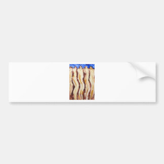 The Great Greek Philosophers(abstract  painting) Bumper Stickers