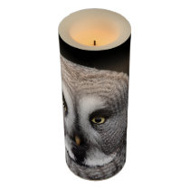 The-great-grey-owl Flameless Candle