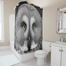 The-great-grey-owl Shower Curtain