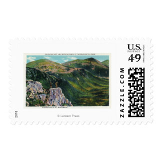 The Great Gulf of the Presidential Range View Stamp