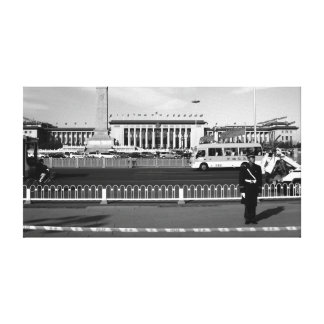 The Great Hall of People, Beijing Canvas Print